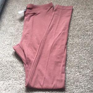 Nwot blush colour leggings